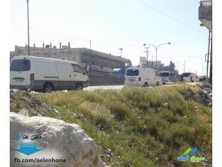 ارض تجاري للبيع في ابو علندا/ نهاية طريق الحزام - قرب سامح مول