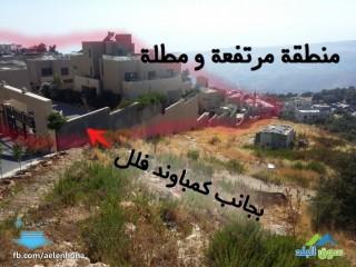 ارض للبيع في ماحص/ حي المعصرة - قرب مسجد عمر بن الخطاب