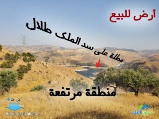ارض للبيع في برما/ القبيس - تبعد كيلومتر واحد عن سد الملك طلال